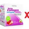 Vistra Collagen 10000 mg รสสตอเบอรี่และลิ้นจี่ แพ็ค 3