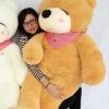 ตุ๊กตาหมีหลับ ตุ๊กตาตัวใหญ่ ขนาด 1.6 เมตร สีน้ำตาลอ่อน