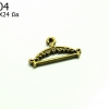จี้ทองเหลือง ไม้แขวนผ้า 14X24 มิล (1ชิ้น)