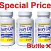 (3 ขวด 2650) Ivory Caps 1500 mg Glutathione Complex 60 เม็ด ผิวขาวใส รวดเร็วทันใจ เป็นกลูต้าไธโอนแบบเม็ดที่ดีที่สุด คุณภาพพรีเมี่ยมมาตรฐาน อย. จากUSA