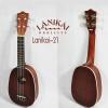"""Ukulele อูคูเลเล่ LANIKAI LU-21P (สับปะรด) ไม้มะฮอกกะนี้ ไซส์ Soprano 21""""แถมกระเป๋า"""