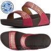 US9 : Fitflop Aztek Chada Slide Rio Pink ของแท้ นำเข้าจาก USA และ UK