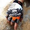 ถุงมือ MT06 - Grey Skull - Free size