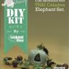 ชุดของแต่งบ้าน ม่านลูกปัดช้างเซรามิค DIY Set