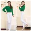 กางเกงยีนส์ผ้ายืด  สีขาว