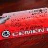 กาวติดเพชรหัวเข็ม ยี่ห้อ Cement ขนาด 9 ML