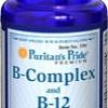 (เพิ่มน้ำหนัก) Puritan Super Vitamin B-Complex ขนาด 180 เม็ด (USA) กระตุ้นและเพิ่มความอยากอาหาร ช่วยเพิ่มน้ำหนักได้