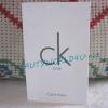 น้ำหอม ck one 1.2 ml. (ขนาดทดลองแบบหลอด)