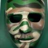 หน้ากากการแสดง, บีบีกัน สีพรางเขียว