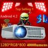 +++ เมพขิงๆ!!! .ใหม่ล่าสุด ABLE-86 Plus+ สุดยอดโปรเจคเตอร์ มัลติมีเดีย 3D Wifi + Android 4.2 ราคาถูกเวอร์ แถมจอ 70นิ้ว ฟรี!! สวยแจ่ม แรงจัด 4000LM ภาพขัดเปรี้ยะ คมกริบ ระดับ HD (Hi-Def) ที่ 1280*1024 ดูหนัง 3D มี Wifi ฝัง Android 4.0 เล่นเกมส์ได้สุดมันส