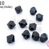 คริสตัลสวารอฟสกี้ (SWAROVSKI) สีดำ 6มิล(10เม็ด)