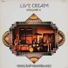 Cream - Live Cream Volume II  1lp