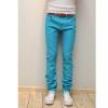 กางเกงแฟชั่น สไตล์เกาหลี สีฟ้า