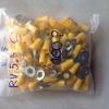 หางปลากลมหุ้ม RV 5.5-6 เหลือง จำนวน 10 PCS