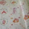 ผ้าฝ้ายเตัดเสื้อกาหลีลายของใช้เด็กทารก เนื้อผ้านิ่ม ตัดเสื้อให้เด็กได้