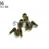 จี้ทองเหลือง รูปผู้หญิง 11X11 มิล (1ชิ้น)