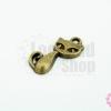 จี้ทองเหลือง แมวน้อย 10x17 มิล(1ชิ้น)
