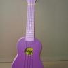 """อูคูเลเล่ Ukulele Stagg (Belgium) US Color Purple Basswood สาย GHS ไซส์ Soprano 21"""" แถมกระเป๋า"""