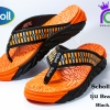 Scholl Brazillian IV (รุ่น บราซิลเลี่ยน 4) Black/Orange เบอร์ 3-8