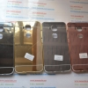 เคส Huawei G7 Plus ขอบ+ฝา สีเงาโครเมี่ยม