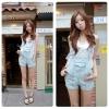 ชุดเอี๊ยมเเฟชั่น สไตล์เกาหลี Jeans