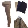 PK3109 กางเกงคนท้อง ผ้ายืด เนื้อผ้าดีมากๆ ค่ะ ทรงขาเดฟ ประดับกระดุมมุกตรงกระเป๋าทั้งสองข้างใส่สบาย ใส่ทำงานดูเรียบร้อยบดีค่ะ