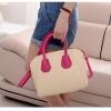 พร้อมส่งจ้า*** กระเป๋าแฟชั่น ทรงสวยเรียบหรู สีขาว สายสีชมพู เก๋ๆ สามารถถือและสะพายได้ทั้งสองแบบ