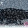 ลูกปัด Miyuki 15/0 สีน้ำตาลเข้มด้าน รหัส 135F (1ถุง/100กรัม)