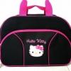 กระเป๋าเดินทางคิตตี้ ใบใหญ่ (มาใหม่) สีดำ (ซื้อ 3 ชิ้น ราคาส่ง 220 บาท ต่อชิ้น)