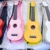 """อูคูเลเล่ Ukulele UMA รุ่น UK-01S Color สี เคลือบ Soprano 21"""" ไม้ Linden สาย Clear ฟรีกระเป๋า"""