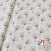 ผ้าคอตตอนญี่ปุ่น ลาย หมี Kumatan สีขาว เนื้อดีลายน่ารักมากค่ะ