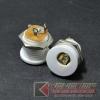 แจ๊ค DC022M ขนาดรู5.5x2.1mm สีขาว(10pcs)