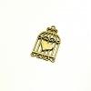 จี้ทองเหลืองรูปกงนก ขนาด 20 มิล ยาว 34 มิล ราคา 15 บาท