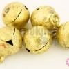 กระดิ่งพม่า ทองเหลือง ปากกลม 17มิล(10ชิ้น)
