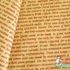 ผ้าคอตตอนญี่ปุ่น ลายตัวอักษรภาษาอังกฤษสีแดง พื้นครีม ของ Lecien Vintage Collection เนื้อบาง ค่ะ