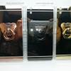 เคส Huawei Y6II เคสขอบนิ่มหลังแข็ง สีเงากระจก+แหวน
