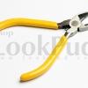 คีมตัดด้ามสีเหลือง(ทรงปากนกแก้ว) คีมตัด คีมปากนกแก้ว