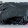 ปอมปอมไหมพรม สีดำ 3 ซม. (100 ลูก)