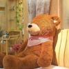 ตุ๊กตาหมีหลับ ตุ๊กตาตัวใหญ่ ขนาด 1.2 เมตร สีน้ำตาลเข้ม