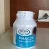 Mega We Care DHA-125 Tuna Oil 100 แคปซูล อาหารเสริมบำรุงสมอง สำหรับทุกวัยและสตรีมีครรภ์