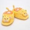 รองเท้าเด็ก รองเท้าเด็กอ่อน รองเท้าหน้าสัตว์ รองเท้าหน้าเสือ สีเหลือง ผ้านุ่ม สวมใส่สบาย (ส่งฟรี)