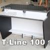 """โต๊ะต่างระดับ T-Line """"เมลามีน"""" 100 ซม. เคฟล่า"""