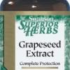 Swanson Grapeseed Extract (Standardized) 50 mg 120 Caps บำรุงผิวพรรณ ช่วยลดฝ้ากระ รอยด่างดำ ด้วยสาร OPC