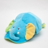 หมวกเด็ก หมวกเด็กอ่อน หมวกหน้าสัตว์ หมวกหน้าช้าง สีฟ้า ข้างหลังเป็นยางยืด ผ้านุ่ม สวมใส่สบาย (ส่งฟรี)