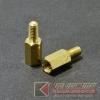 เสารอง PCB ทองเหลือง ผู้-เมีย M3x8x6 (10pcs)