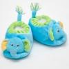 รองเท้าเด็ก รองเท้าเด็กอ่อน รองเท้าหน้าสัตว์ รองเท้าหน้าช้าง สีฟ้า ผ้านุ่ม สวมใส่สบาย (ส่งฟรี)