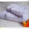 เซ็ทผ้าขนหนูเช็ดตัว & ผ้าเช็ดผม สีม่วง