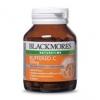 Blackmores Natural Buffer C 500 mg วิตามินซีบำรุงผิวพรรณ เพื่อผิวกระจ่างใส ทานเสริมฤทธิ์กลูต้าไธโอน