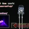"LED 5mm สีชมพู ""หลอดใส"" (100pcs)"