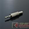 Plug TRS 3.5mm Silver